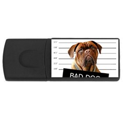 Bad Dog Usb Flash Drive Rectangular (4 Gb) by Valentinaart