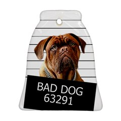Bad Dog Ornament (bell) by Valentinaart