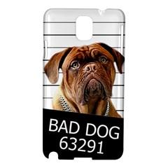 Bad Dog Samsung Galaxy Note 3 N9005 Hardshell Case by Valentinaart