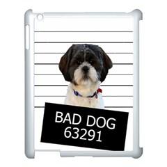 Bad Dog Apple Ipad 3/4 Case (white) by Valentinaart