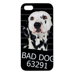 Bad Dog Iphone 5s/ Se Premium Hardshell Case by Valentinaart