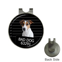 Bad Dog Hat Clips With Golf Markers by Valentinaart