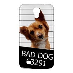 Bad Dog Samsung Galaxy Mega 6 3  I9200 Hardshell Case by Valentinaart