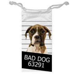 Bad Dog Jewelry Bag by Valentinaart