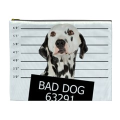 Bad Dog Cosmetic Bag (xl) by Valentinaart