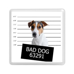 Bad Dog Memory Card Reader (square)  by Valentinaart