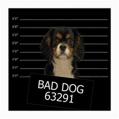 Bad Dog Medium Glasses Cloth (2 Side) by Valentinaart