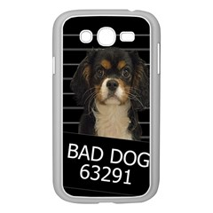 Bad Dog Samsung Galaxy Grand Duos I9082 Case (white) by Valentinaart