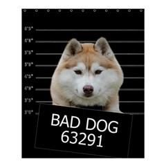 Bad Dog Shower Curtain 60  X 72  (medium)  by Valentinaart