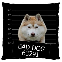 Bad Dog Standard Flano Cushion Case (one Side) by Valentinaart