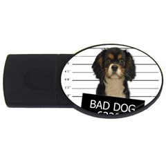 Bad Dog Usb Flash Drive Oval (2 Gb) by Valentinaart