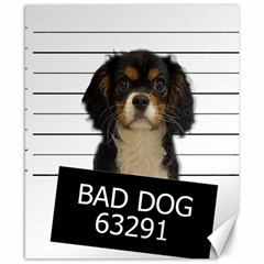 Bad Dog Canvas 8  X 10  by Valentinaart