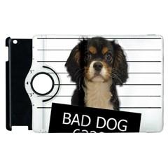 Bad Dog Apple Ipad 2 Flip 360 Case by Valentinaart