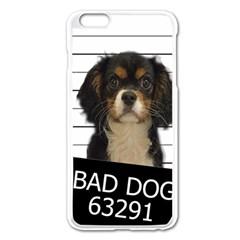 Bad Dog Apple Iphone 6 Plus/6s Plus Enamel White Case by Valentinaart