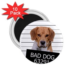 Bad Dog 2 25  Magnets (10 Pack)  by Valentinaart
