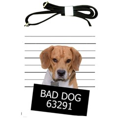 Bad Dog Shoulder Sling Bags by Valentinaart