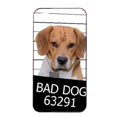 Bad Dog Apple Iphone 4/4s Seamless Case (black) by Valentinaart