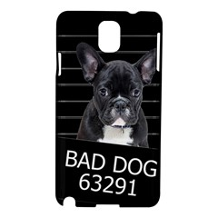 Bad Dog Samsung Galaxy Note 3 N9005 Hardshell Case by Valentinaart