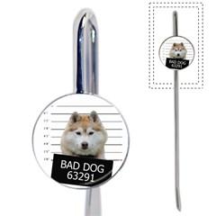 Bad Dog Book Mark by Valentinaart