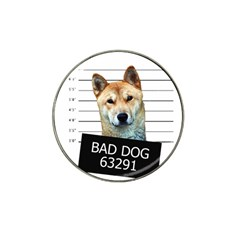 Bad Dog Hat Clip Ball Marker (4 Pack) by Valentinaart