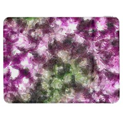 Purple Green Paint Texture    Htc One M7 Hardshell Case by LalyLauraFLM