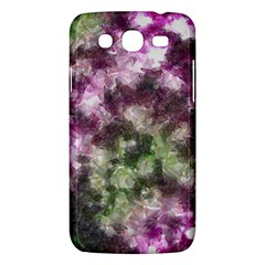 Purple Green Paint Texture    Samsung Galaxy Duos I8262 Hardshell Case by LalyLauraFLM