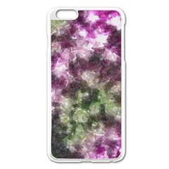 Purple green paint texture    Apple iPhone 6/6S Leather Folio Case by LalyLauraFLM