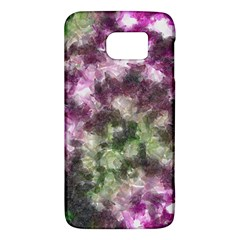 Purple Green Paint Texture    Htc One M9 Hardshell Case by LalyLauraFLM