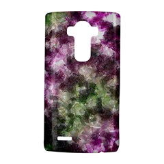 Purple Green Paint Texture    Samsung Galaxy S6 Edge Leather Folio Case by LalyLauraFLM
