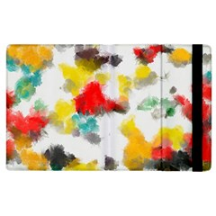 Colorful paint stokes     Kindle Fire (1st Gen) Flip Case by LalyLauraFLM