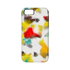 Colorful Paint Stokes     Apple Iphone 4/4s Hardshell Case (pc+silicone)