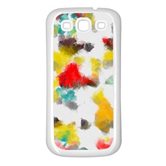 Colorful paint stokes     Samsung Galaxy S7710 Xcover 2 Hardshell Case by LalyLauraFLM
