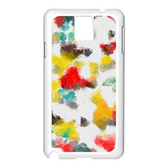 Colorful Paint Stokes     Apple Iphone 5c Seamless Case (white)