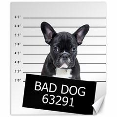 Bad Dog Canvas 8  X 10  by Valentinaart
