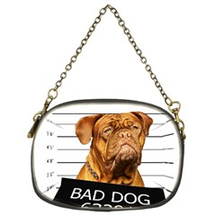 Bad Dog Chain Purses (two Sides)  by Valentinaart