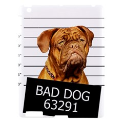 Bad Dog Apple Ipad 3/4 Hardshell Case by Valentinaart