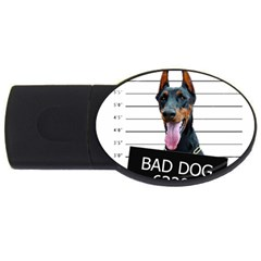 Bad Dog Usb Flash Drive Oval (4 Gb) by Valentinaart