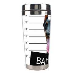 Bad Dog Stainless Steel Travel Tumblers by Valentinaart
