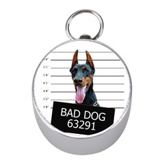 Bad Dog Mini Silver Compasses by Valentinaart