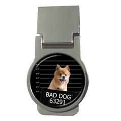 Bad Dog Money Clips (round)  by Valentinaart