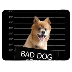 Bad Dog Samsung Galaxy Tab 7  P1000 Flip Case by Valentinaart