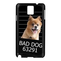 Bad Dog Samsung Galaxy Note 3 N9005 Case (black) by Valentinaart