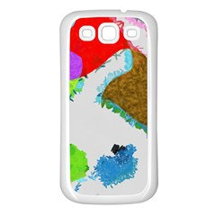 Painted shapes      Samsung Galaxy S7710 Xcover 2 Hardshell Case by LalyLauraFLM