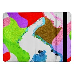 Painted Shapes      Samsung Galaxy Tab Pro 10 1  Flip Case by LalyLauraFLM
