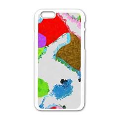 Painted Shapes      Motorola Moto E Hardshell Case by LalyLauraFLM