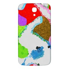 Painted Shapes      Samsung Galaxy Note 4 Pu Leather Hardshell Back Case by LalyLauraFLM