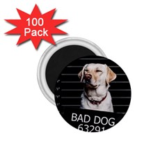 Bad Dog 1 75  Magnets (100 Pack)  by Valentinaart