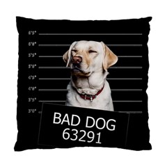 Bad Dog Standard Cushion Case (two Sides) by Valentinaart