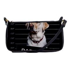 Bad Dog Shoulder Clutch Bags by Valentinaart