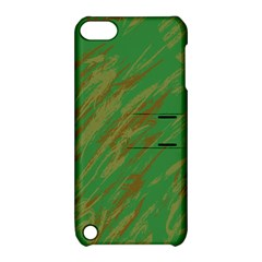 Brown Green Texture       Apple Iphone 5 Hardshell Case With Stand by LalyLauraFLM